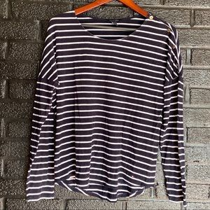 Tommy Hilfiger longsleeve stripe shirt size large